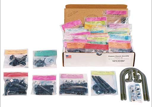 Pontiac GTO master body bolt kit correct head marking and on bolts