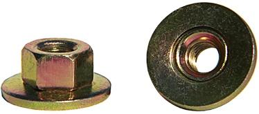 M6-1.0 CONI KEPS NUT 19MM D, ZDC | B-10459 | (MPU) N621906-S
